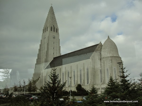 exterior of Hallgrimskirkja Church in Reykjavik, Iceland