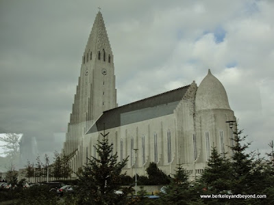 exterior of Hallgrimskirkja Church in Reykjavik, Iceland