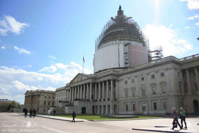 My Travel Background : 12 lieux à visiter à Washington D.C. - Le Capitole