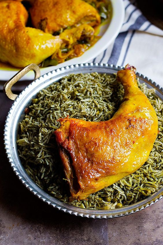 Persian Chicken with Saffron