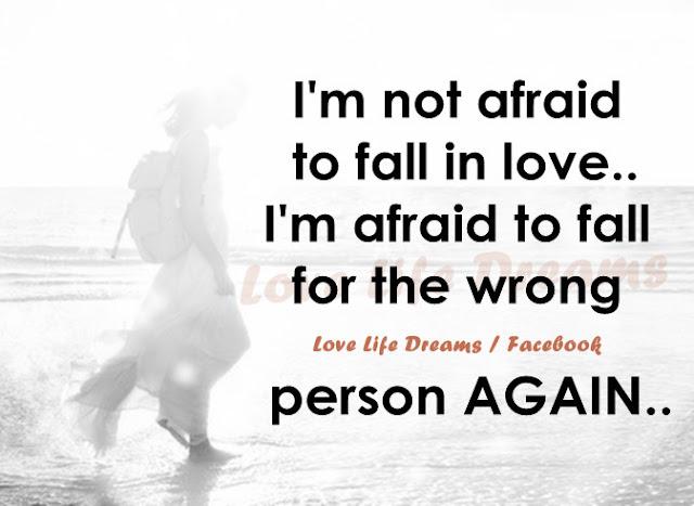 Love Life Dreams: I'm Not Afraid Of Falling In Love