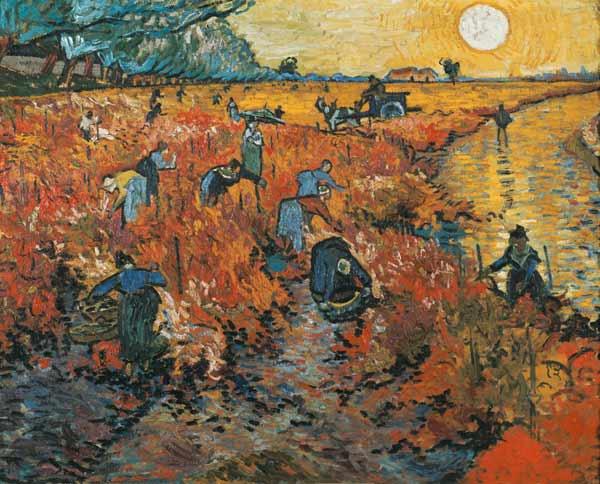 Le vigne Rosse - Van Gogh