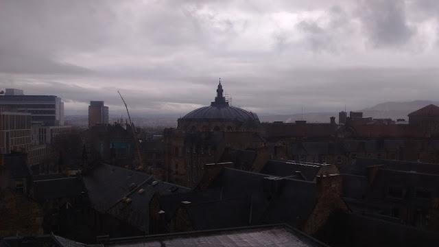 Edinburgh, National Museum of Scotland roof views