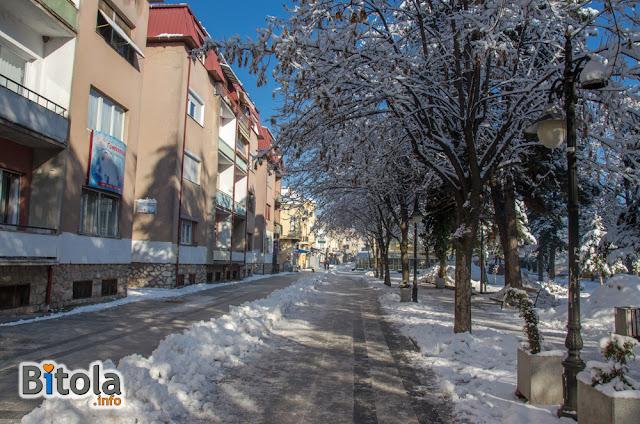 Shirok Sokak street, Bitola, Macedonia - 27.01.2019