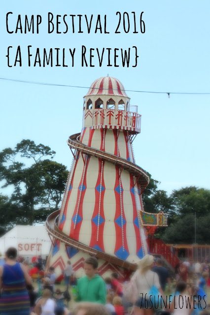 Camp Bestival 2016 {A Family Review} // 76sunflowers