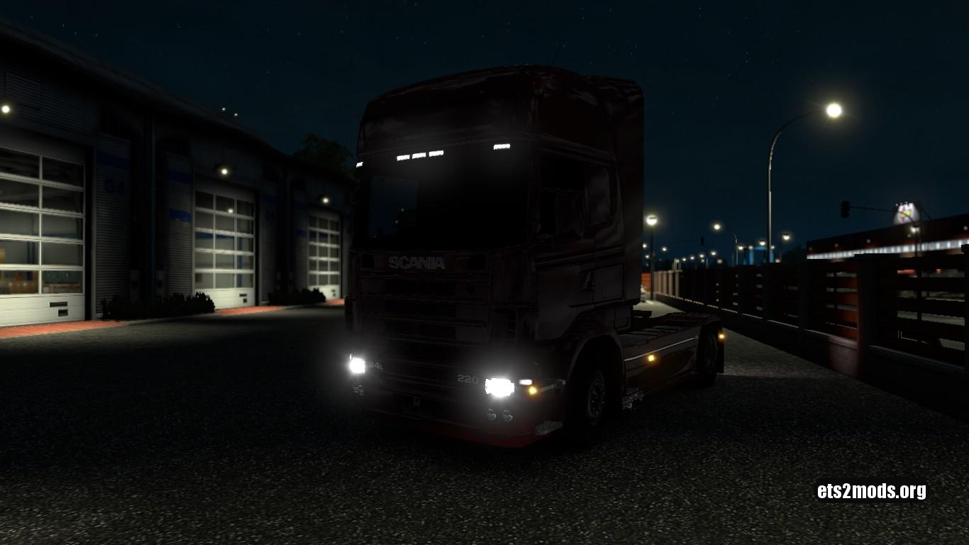 Scania 4 Xenon mod