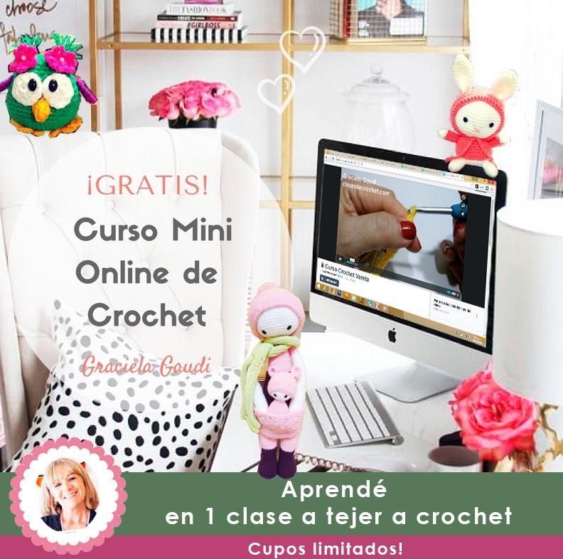 Curso Online Crochet Gratis