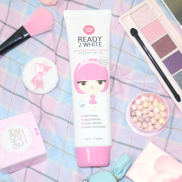 review Cathy Doll Ready 2 White Whitener Body Lotion