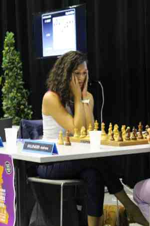 Natacha Benmesbah à Agen - Photo © Chess & Strategy