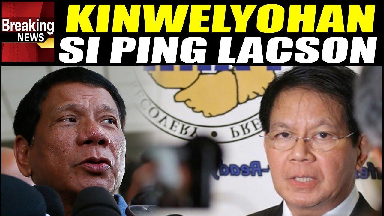 WATCH: Nakakagulat na Ginawa ni Duterte kay Ping Lacson Noon Ikiniwento