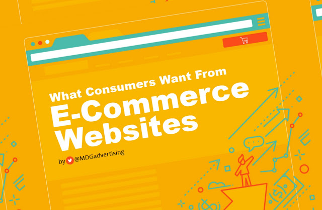 5 Elements Consumers Want from E-Commerce Websites - infographic