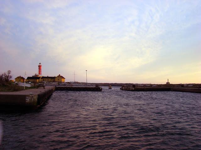 Utklippan - wejście do portu