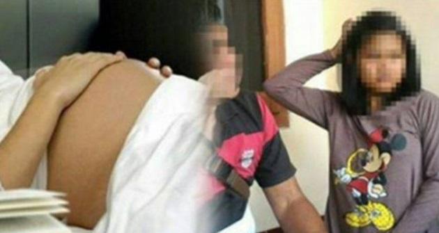 Remaja 14 tahun mengaku bahagia bercinta dengan ayah hingga hamil
