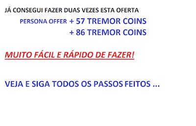 COMO GANHAR TREMOR COINS
