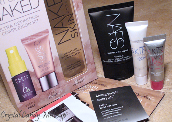 Commande Sephora - Start Getting Naked Complexion Kit Urban Decay - Nars Pro-Prime Light Optimizing Primer