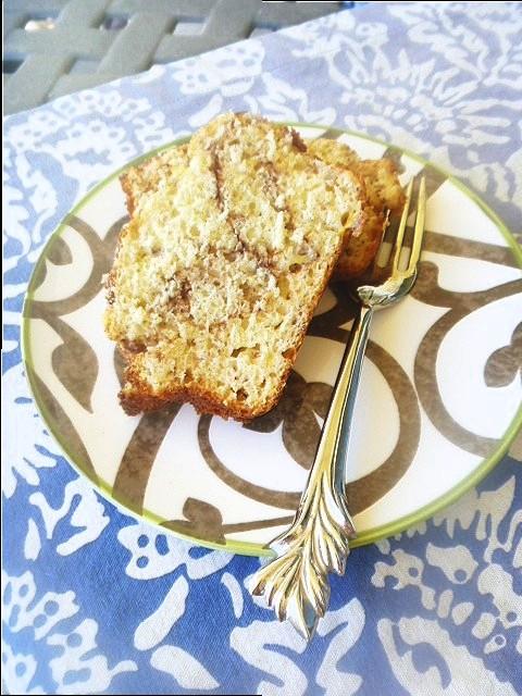 Cinnamon Streusel Banana Bread - Slice of Southern