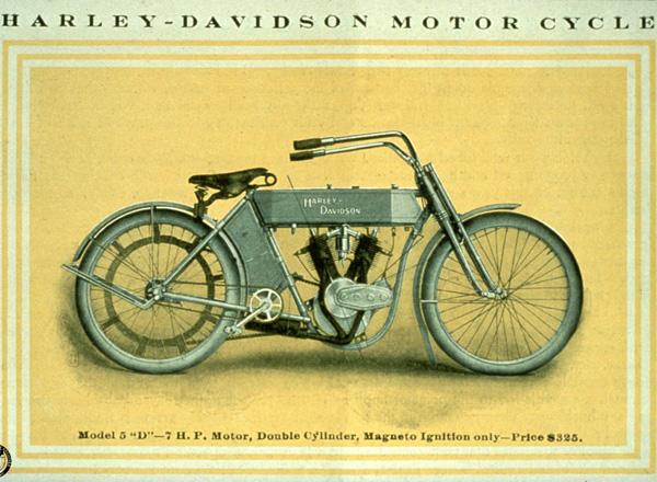 Harley Davidson Advertising: Harley-Davidson Advertising Early 1900's