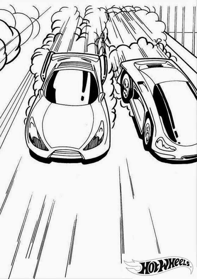Hot Wheels Coloring Pages 40