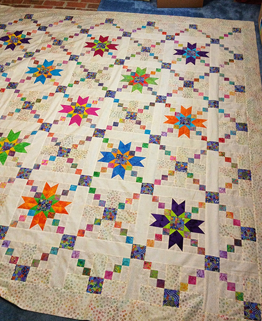 Jared takes a Wife Quilt by Susan Holman of Susan's Quilt Creations, The Pattern by Bonnie K Hunter of QuiltVille
