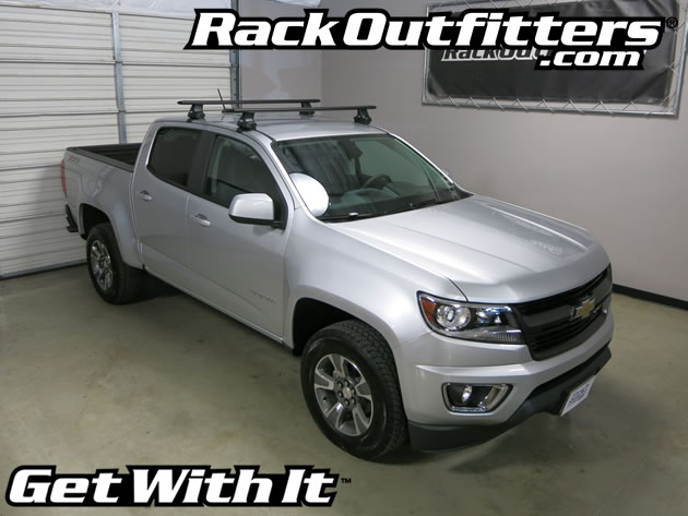 Chevrolet Colorado Crew Cab Thule Rapid Traverse BLACK ...