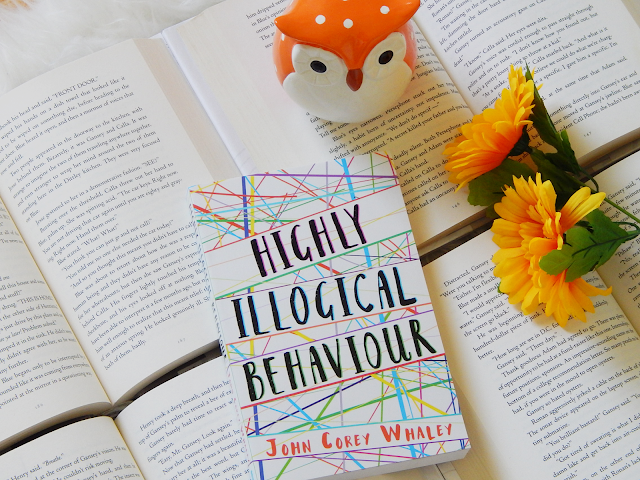 Highly Illogical Behaviour No Spoiler Book Review | sprinkledpages