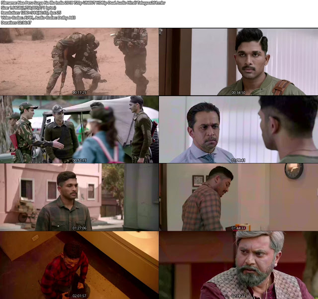 Naa Peru Surya Na Illu India 2018 Hindi Dubbed Movie 720p Free Download