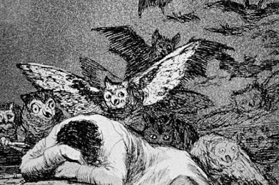 Goya: Somnul ratiunii naste monstri