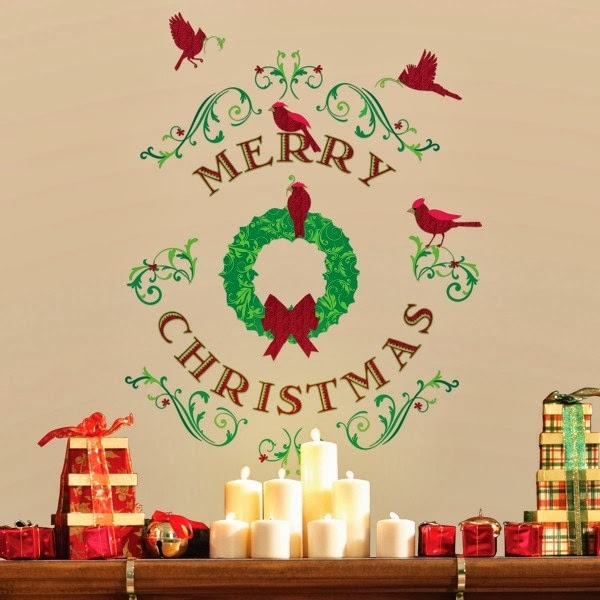 Christmas wall decoration ideas  nice and easy family ...