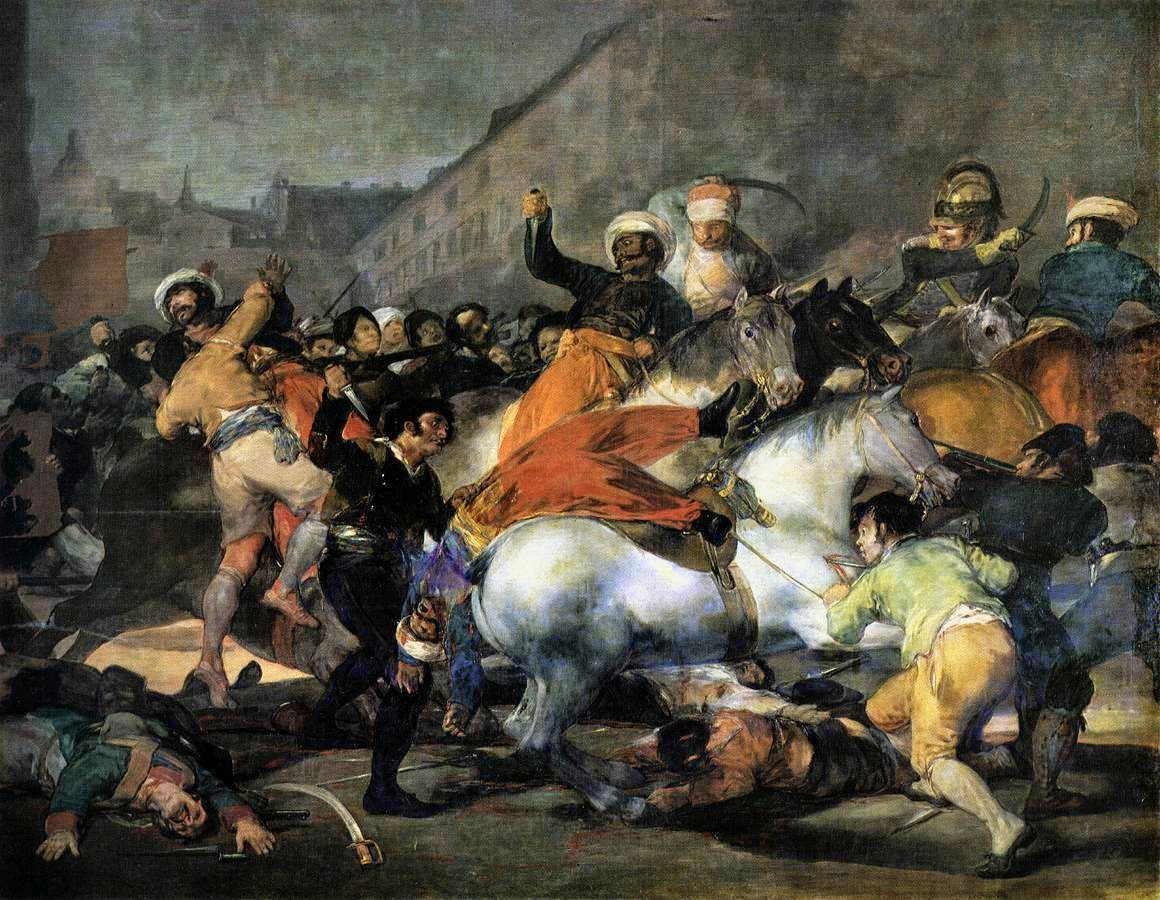 A Carga dos Mamelucos - Goya, Francisco e suas pinturas ~ Foi um importante pintor espanhol da fase do Romantismo