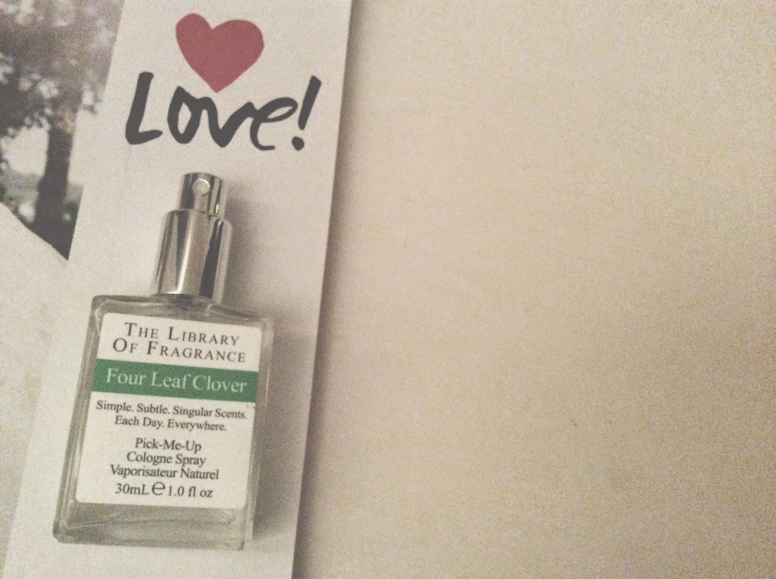 Library of Fragrance Four Leaf Clover perfume