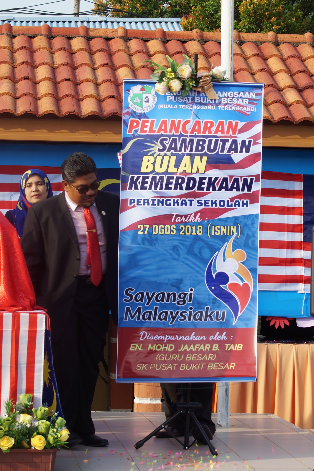 Pelancaran Sambutan Bulan Kemerdekaan 2018 Sk Pusat Bukit Besar