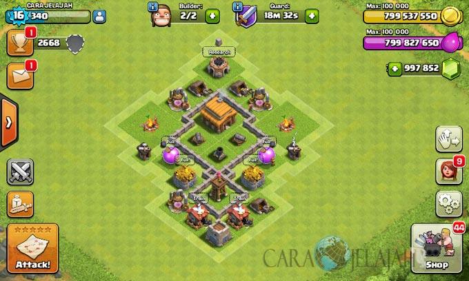 Desain Base Town Hall 3 Terbaik Dan Terbaru Clash Of Clans 18