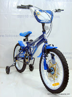 18 Inch Wimcycle Arrow Police Kids Bike