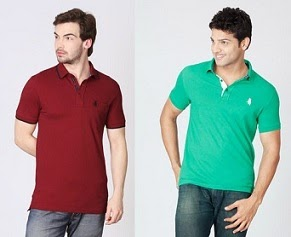 Steal Offer: Flat 40% to 49% Off on Regent Polo Men's T-Shirts (All below Rs.450 Only) at Flipkart
