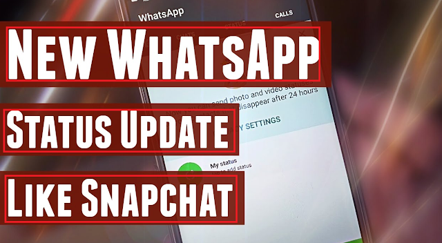 How to change WhatsApp status in Snapchat Stories?