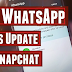 How to change WhatsApp status in Snapchat Stories?