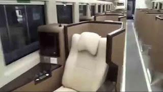 Kereta Tidur Luxury Class