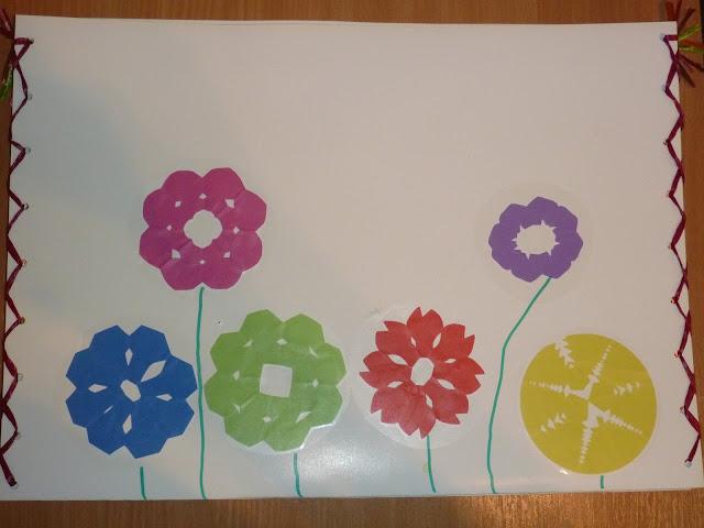 Zeichnungsmappe Kindergarten gestalten