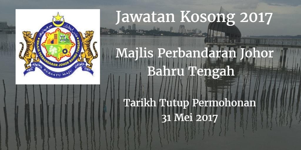 Jawatan Kosong MPJBT 31 Mei 2017