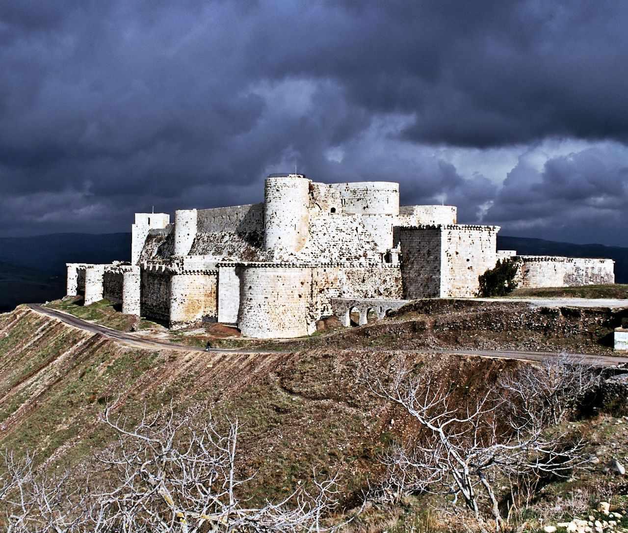 Crak dos Cavaleiros, fortaleza cruzada na Síria