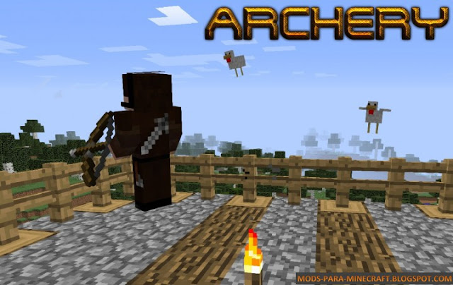 Archery - The Minecraft Challenges Mod para Minecraft 1.8