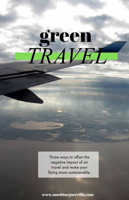 Everything you need to know to go green while flying