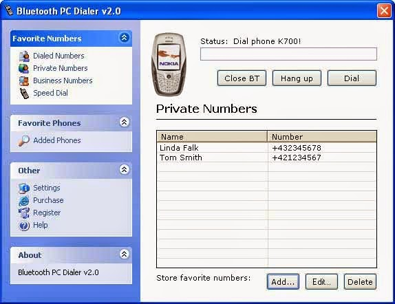 bluetooth pc dialer 3.1 gratuit