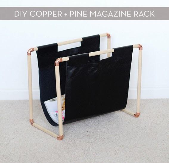 ma maison au naturel un porte revue design faire soi m me. Black Bedroom Furniture Sets. Home Design Ideas