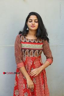 Telugu Actress Nikhila Vimal Latest Stills in Anarkali Dress  0071.JPG