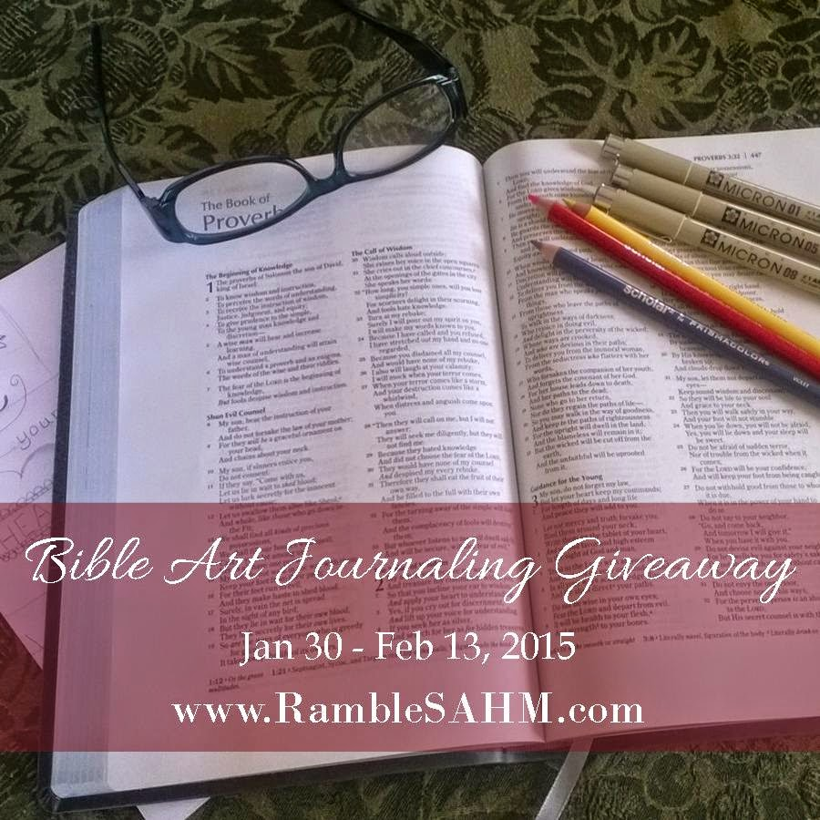 Bible Art Journaling Giveaway
