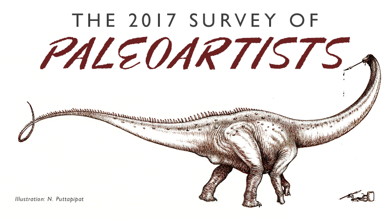 The 2017 Survey of Paleoartists