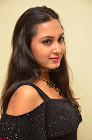 South Actress Amulya in short black dress at Kalamandir Foundation 7th anniversary Celebrations ~  Actress Galleries 038.JPG