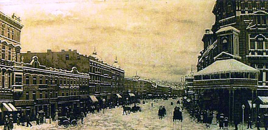 Zviad Gogolauri, Old Kiev in winter