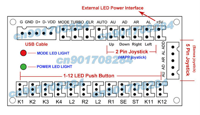 The cy 822b led joystick project bosega usb cy 822b led joystick schematic cheapraybanclubmaster Image collections